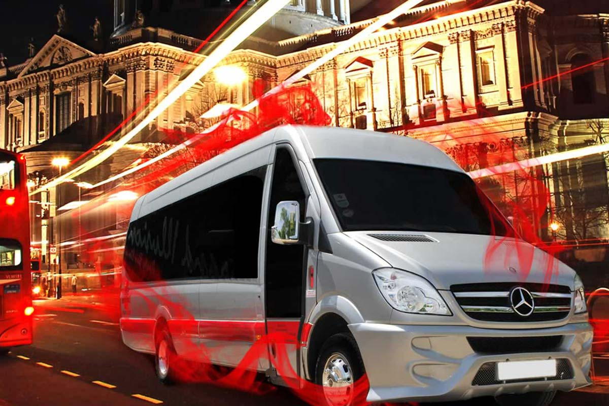 Compare hire prices on Party Buses