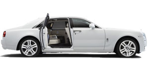Compare Rolls Royce Ghost hire prices